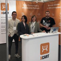 X-Cart Team on eCommerce Expo.