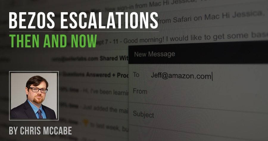 Bezos Escalations: Then and Now
