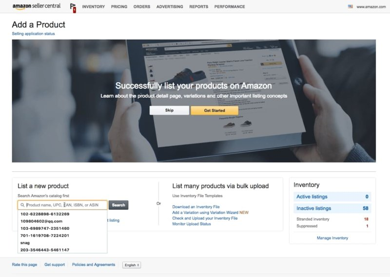list your products for retail arbitrage