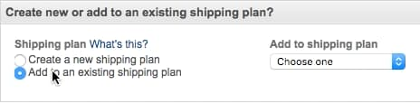fba-existing-shipping for retail arbitrage