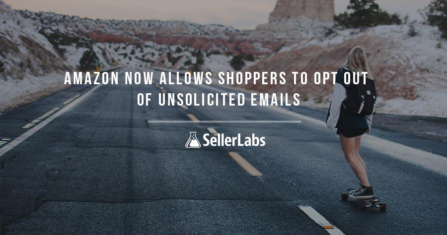 Amazon Now Allows Shoppers to Opt Out of Unsolicited Emails