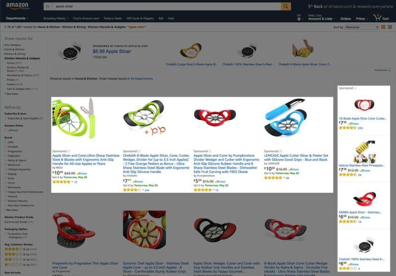 Amazon Apple Slicer
