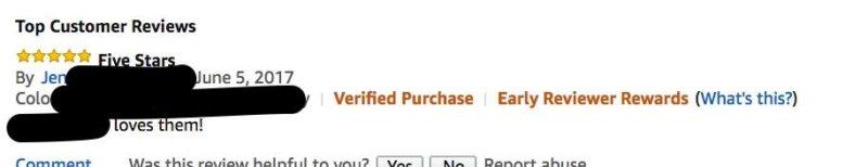 Top Customer Reviews