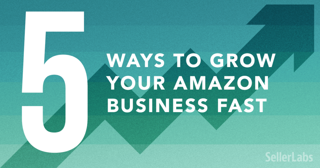 5 Ways to Grow Your Amazon Business Fast