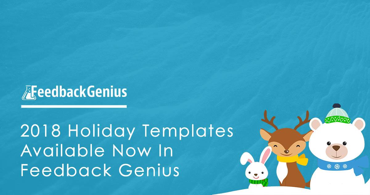 Amazon Seller Feedback Holiday Templates - Seller Labs