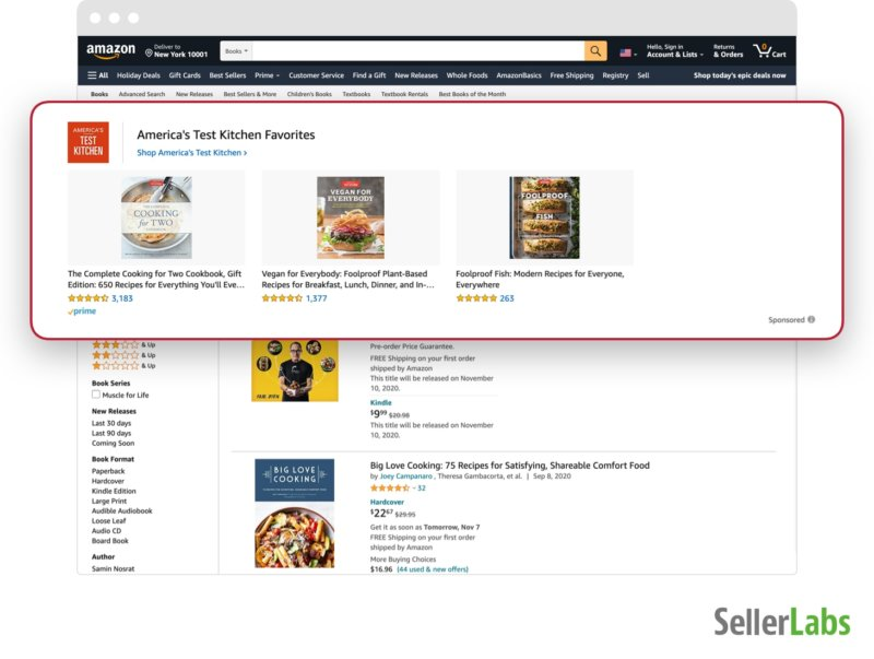Headline Ads / Amazon Sponsored Brand Ads