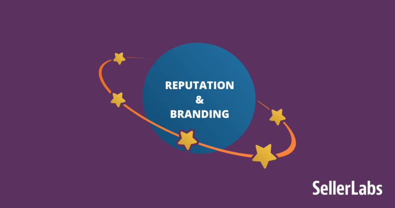 reputation and branding are critical to success on amazon