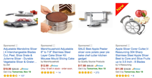 amazon-sponsored-products-apple-slicer