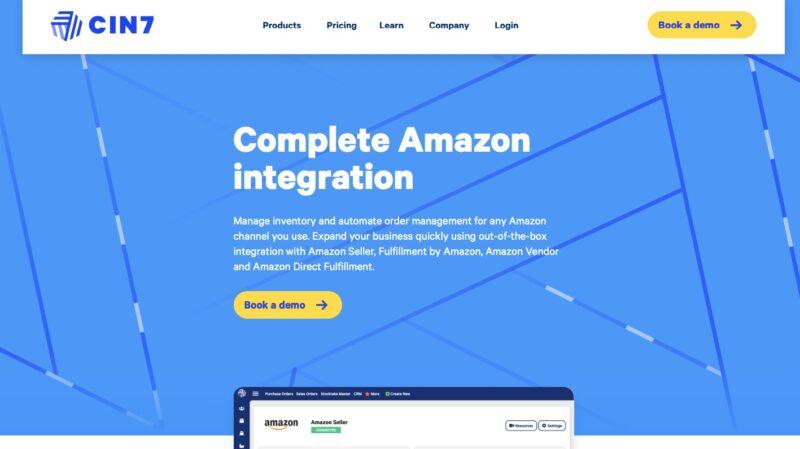 Cin7 Amazon inventory management tool