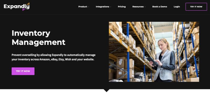 Expandly Amazon inventory management tool