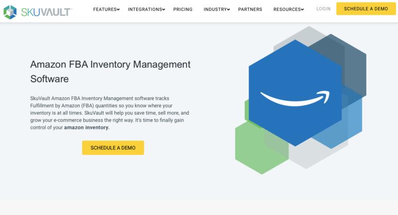 Skuvault Amazon inventory management software