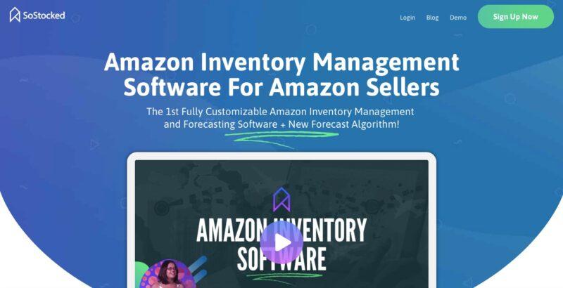 SoStocked Amazon inventory Software