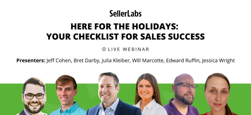 Here for the Holidays: Your Checklist for Amazon Sales Success
