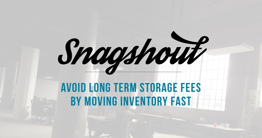 Avoid Long Term Storage Fees By Moving Inventory Fast With Snagshout