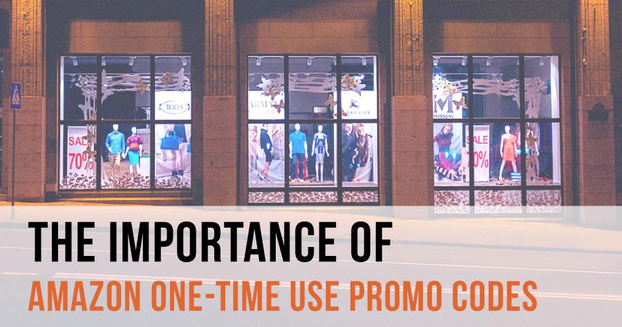 Amazon One Time Use Promo Codes