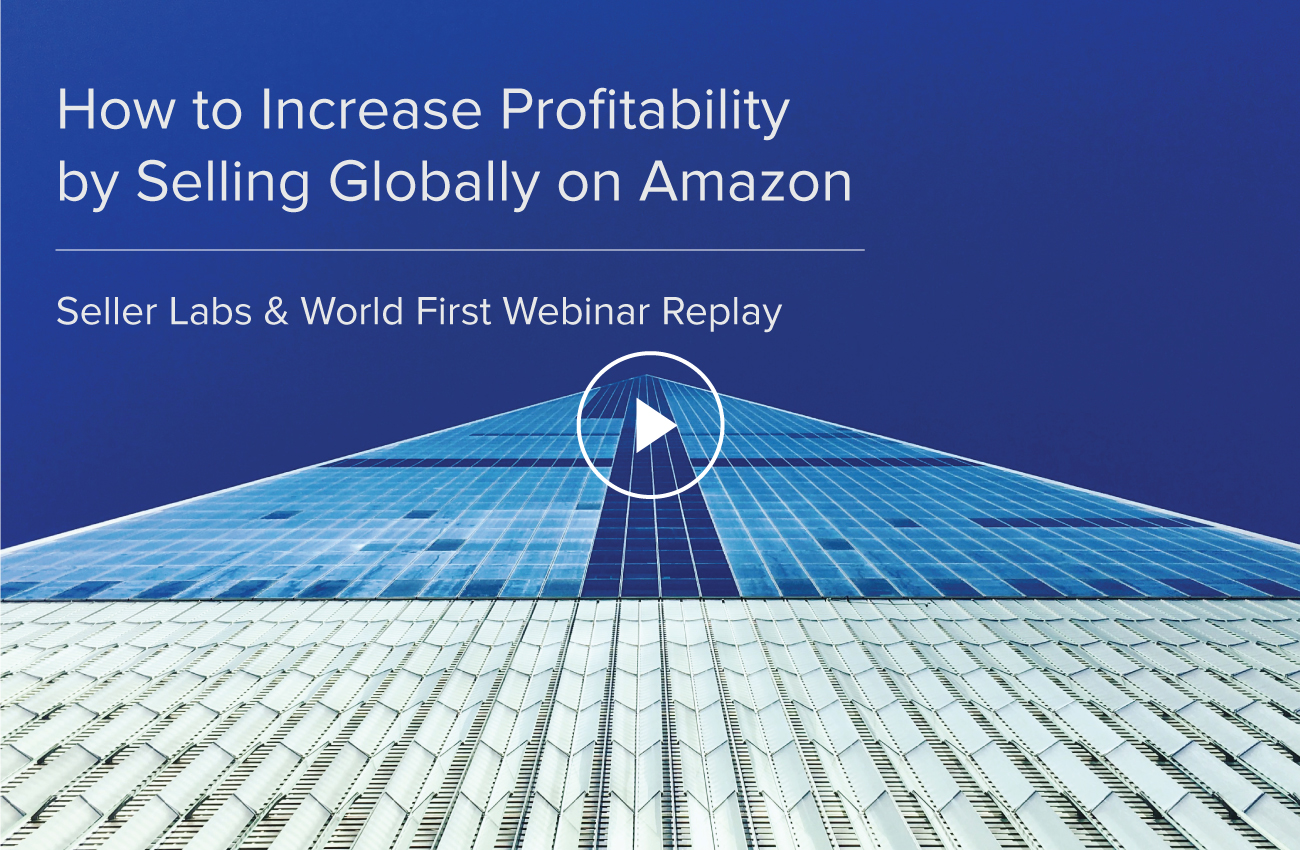 How To Increase Profitability By Selling Globally On Amazon – Seller Labs & World First Webinar Replay