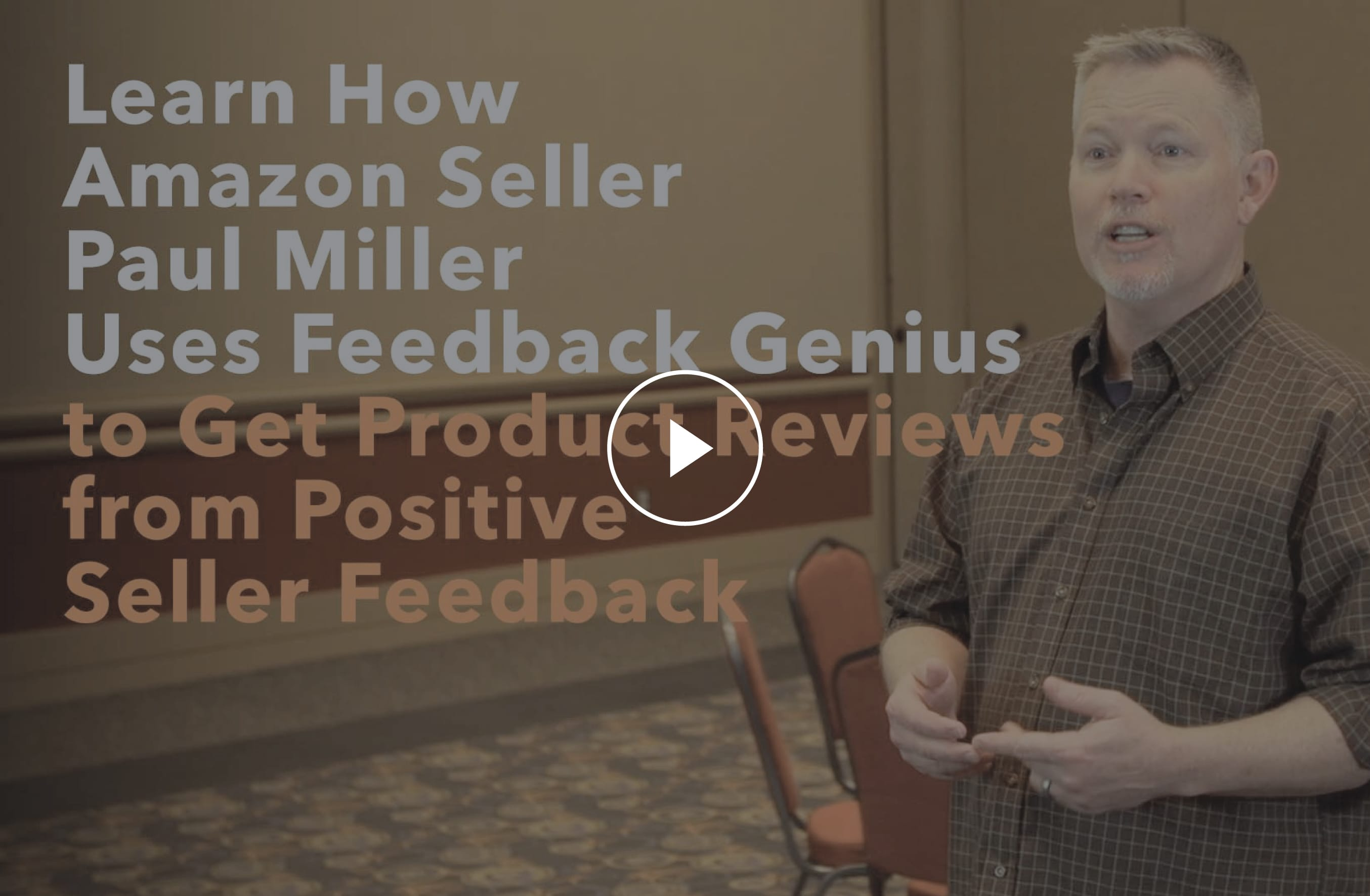Amazon Seller Paul Miller Uses Feedback Genius To Get Product Reviews From Positive Seller Feedback