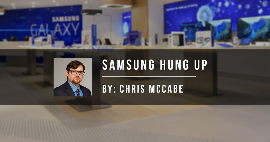 Samsung Hung Up
