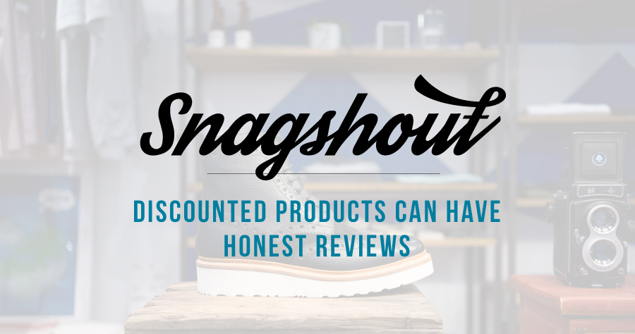Discounted Products Can Have Honest Reviews