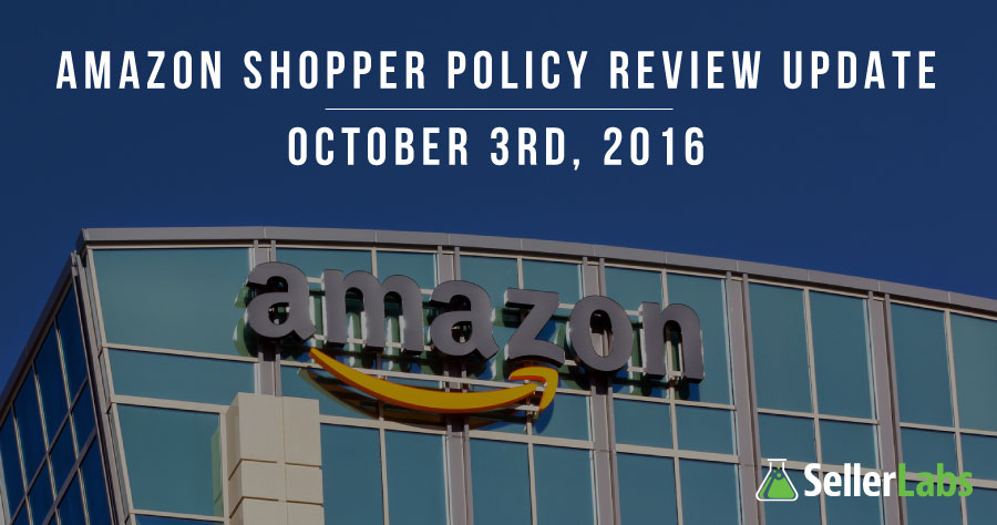 Amazon Shopper Policy Review Update – Incentivized Product Reviews Banned – Oct. 3, 2016