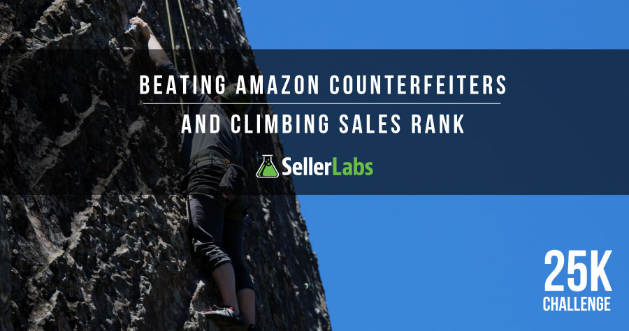 $25k Challenge: Beating Amazon Counterfeiters And Climbing Sales Rank