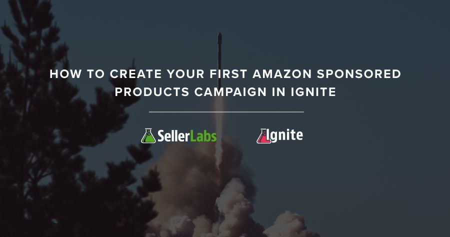 How To Create Your First Amazon Sponsored Products Campaign In Ignite