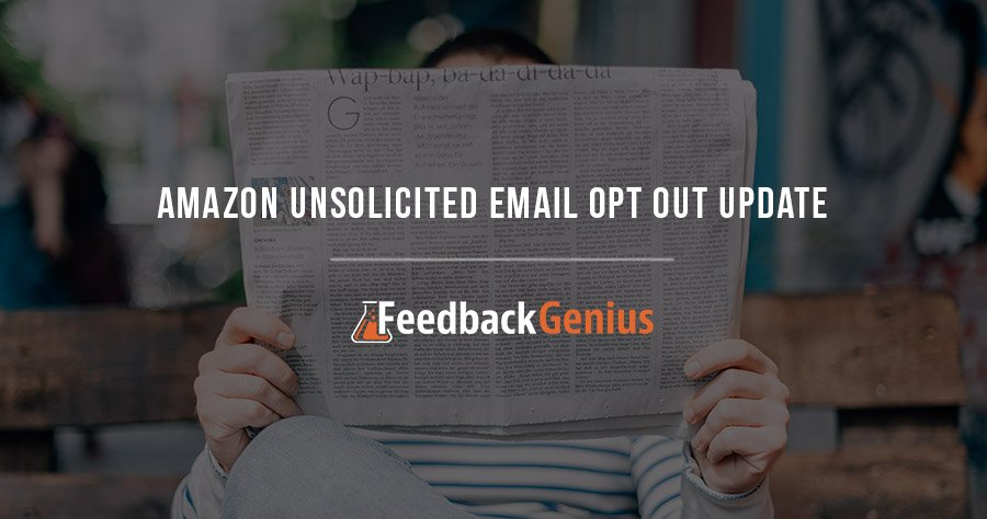 Amazon Unsolicited Email Opt Out Update