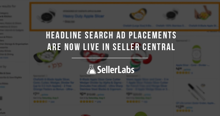 Breaking Amazon Seller News: Headline Search Ad Placements Are Now Live In Seller Central