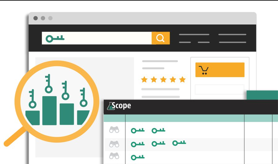 Icon Image Of Scope Amazon Keyword Tool